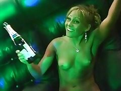 Naked tipsy russian club sex soiree hard-core
