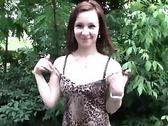Adorable czech woman is seduced in the mall and rode in pov