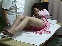 Japanese teenage goes to the doctors for a finish horny physica