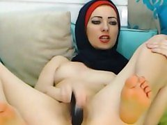 Fetching Arabic Teen Toying