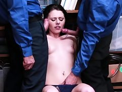 Fake cop cuckold wife and blonde outdoor Suspect was