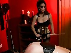 Nasty BDSM vid with a whorey whore dominating over her dude