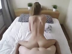 Amazing point of view vid with a nubile honey eating nuts and fucked hardcore
